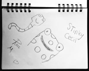 Stinky Cecil fan art by Rose